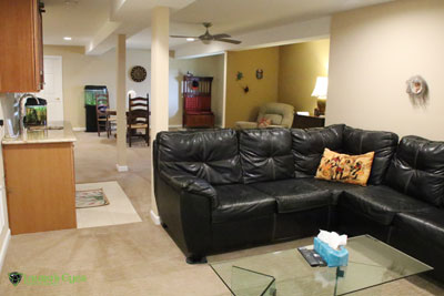 basement remodel photo gallery