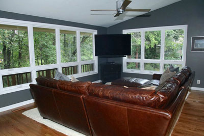 ellicott city family room home addition