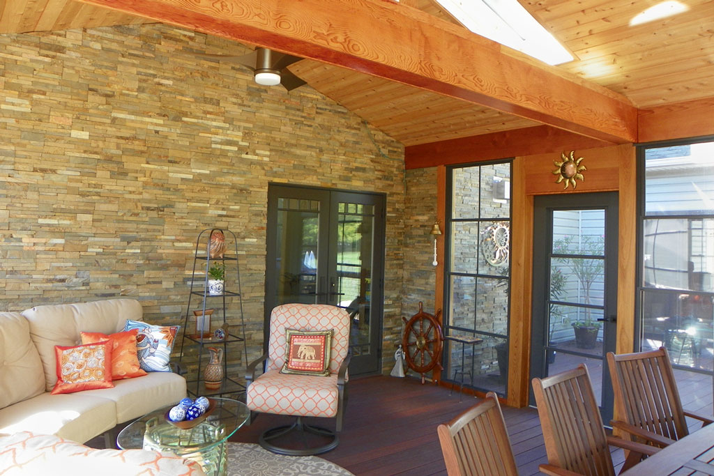 luxury screened porch photo gallery